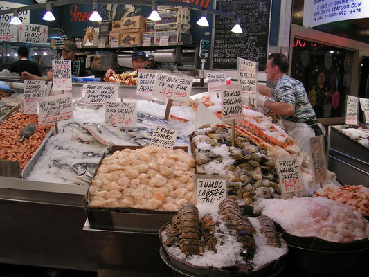 pike market place, seattle; wa