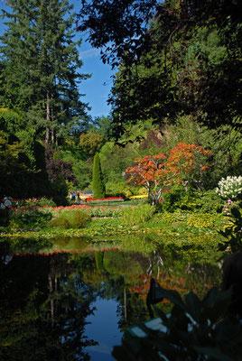 butchart gardens, vancouver island; bc