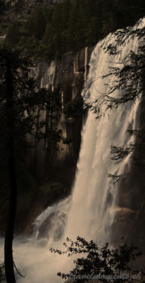 vernal fall, yosemite np; ca
