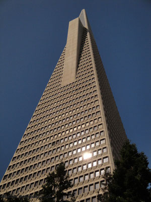 transamerica pyramid, financial district, san francisco; ca