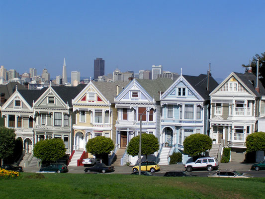 alamo square, san francisco; ca
