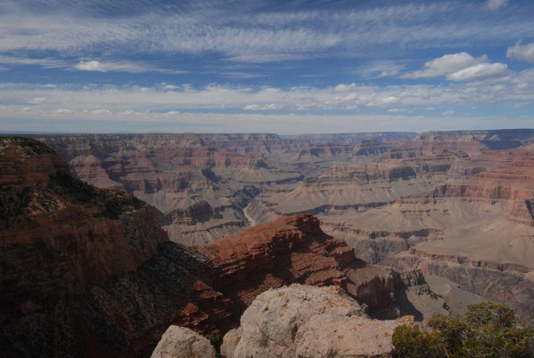 grand canyon south rim; az