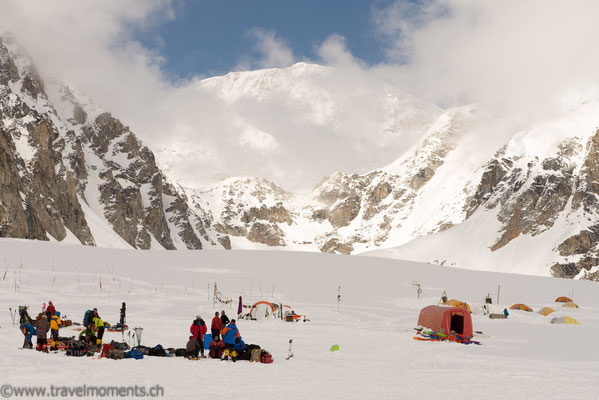 Base Camp 1 zum Mt. McKinley