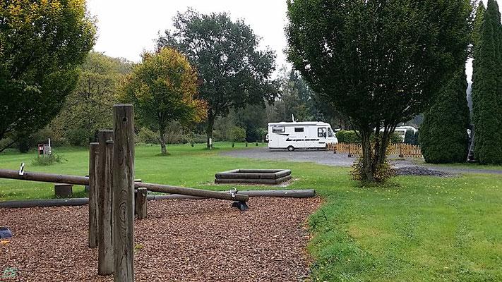 Stellplatz am Campingplatz für 10,00 €