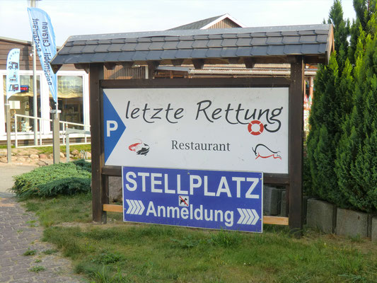 Stellplatz in Sembzin an der Müritz