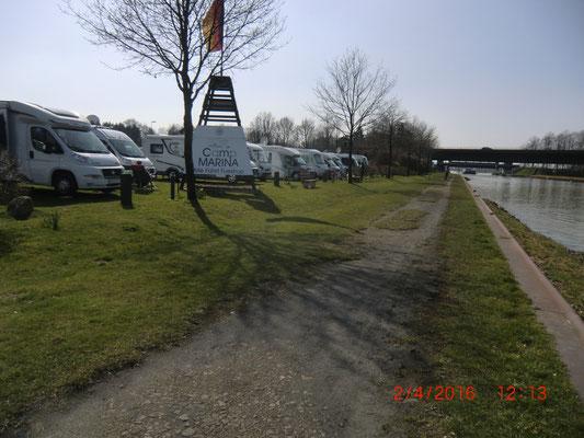 direkt am Dortmund-Ems-Kanal