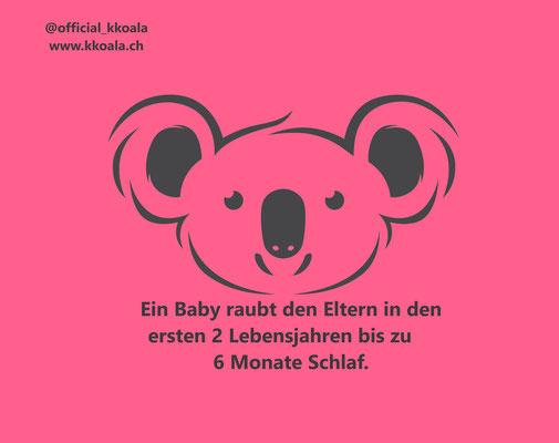 Ein Baby raubt den Eltern in den ersten zwei Lebensjahren bis zu sechs Monate Schlaf.