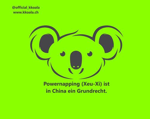 Powernapping ist in China ein Grundrecht.