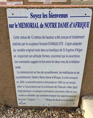 Mémorial Notre Dame d'Afrique