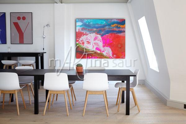 Wandbild Wohnraum