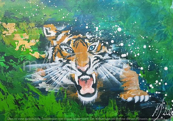 Krafttier Tiger Martina Saur