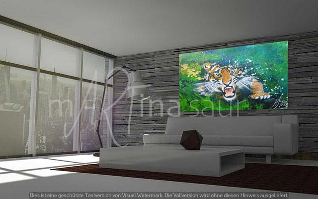 BrightLightArt Lichtbild Tiger Force