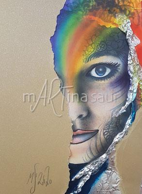 Portrait rainbow