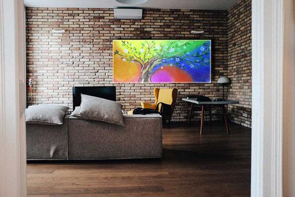 Wandbild Regenbogen