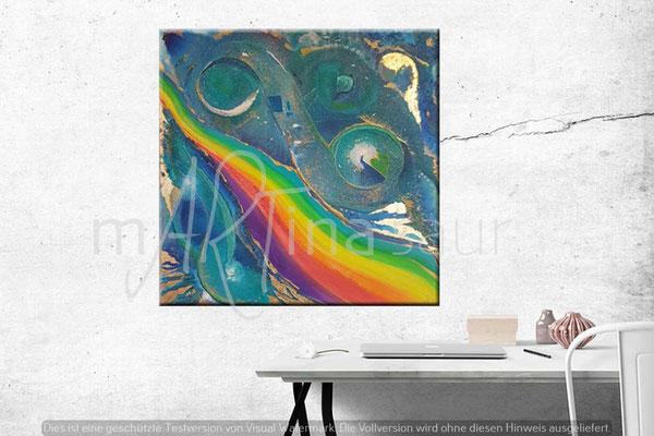 Segensfluss Regenbogen