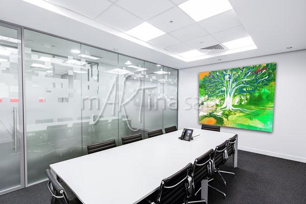 Wandbild für Business