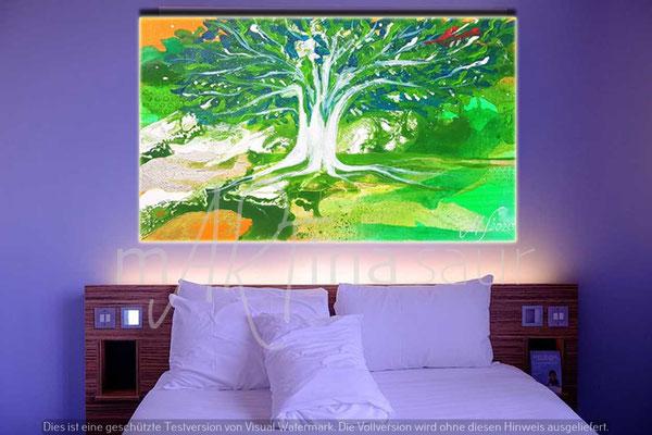 Lichtbild im Hotel