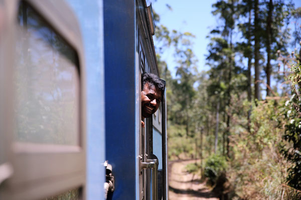 Train de la jungle - Sri Lanka