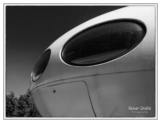 <b>Glubschauge</b><br> FUTURO. A Flying Saucer in Town, Pinakothek der Moderne, München   ©Reiner Gruhle