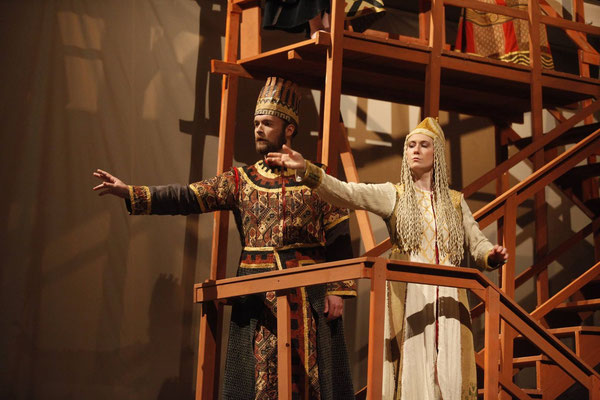 Gilgamesch - sirene Operntheater - David Jagodic, Lisa Rombach