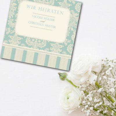 Drucksachen für Hochzeit