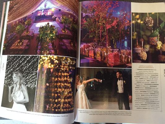 Bryn Mawr wedding makes 'The Knot' magazine (2016)