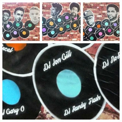 The Dj Mural at The Philadelpha International Airport