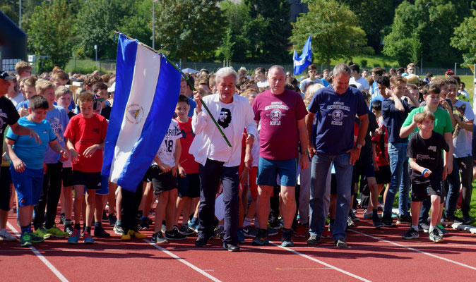 Der Nicaragua-Lauf der Geschwister-Scholl-Schule in 2016