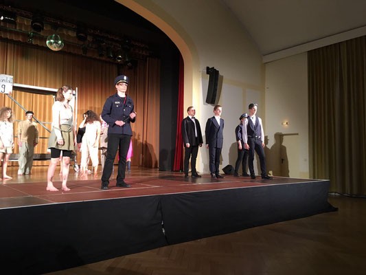 "Musical ""Pinkelstadt"" in der Geschwister-Scholl-Schule Konstanz"