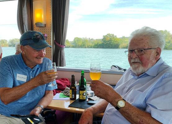 Nik Grimm und Bernhard Kamer