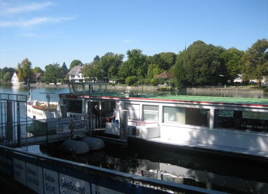 Unser Privatschiff Stadt Solothurn