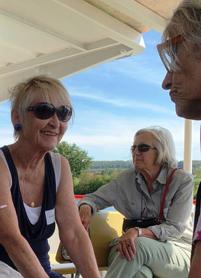 Maria Eidam und Sabine Kisling