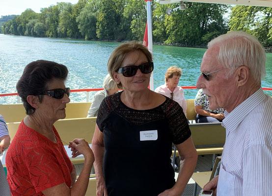 Doris Vögeli, Danica Radosevic und Lubos Jäger