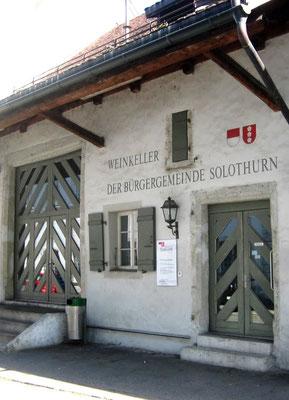 Weinkeller der Bürgergemeinde Solothurn