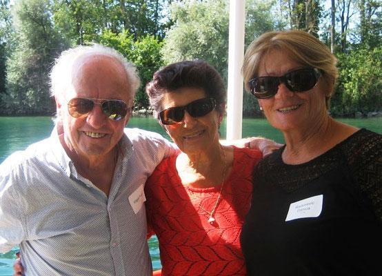 Fredi & Doris Vögeli mit Danica Radosevic