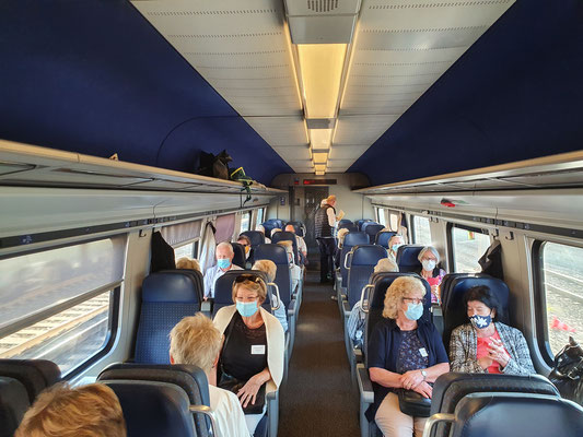 Zugfahrt nach Solothurn