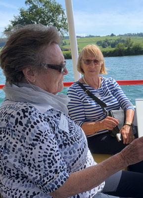 Rosmarie Dolder und Ursula Rasch