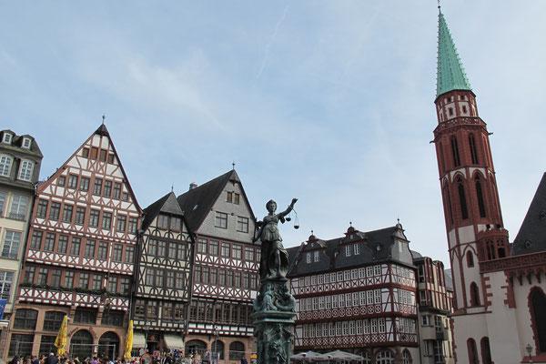 Römerberg: la place historique
