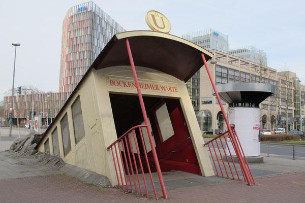 Station de métro Bockenheimer Warte