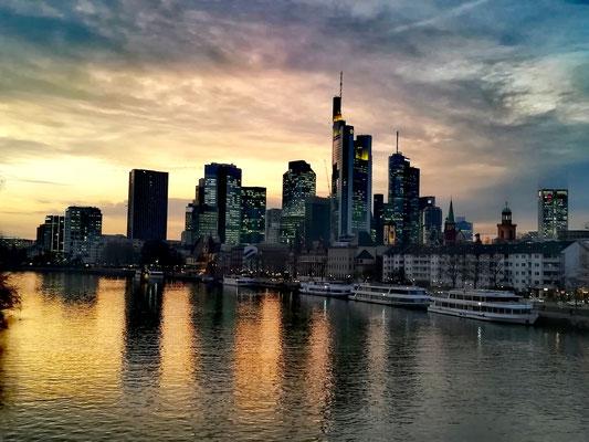 Mainhattan skyline gratte-ciel