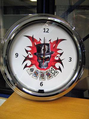 "17"" Neon Clock / Neon Uhr"