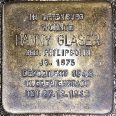 Glaser, Hanny