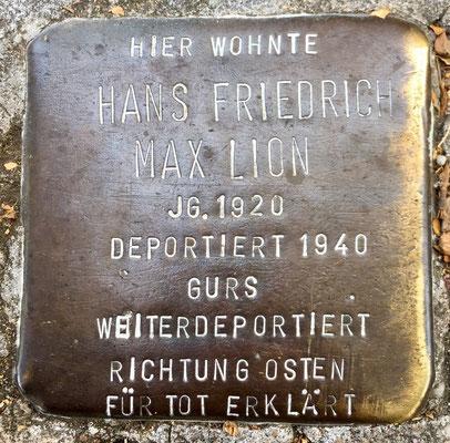Hans Friedrich Max Lion