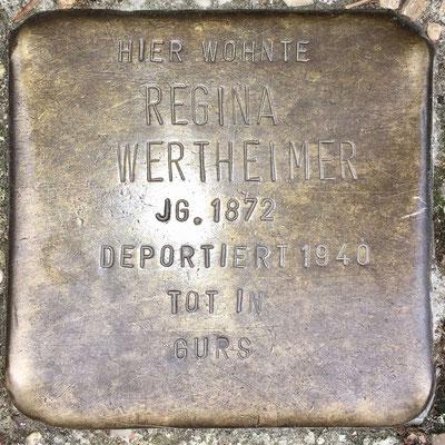 Wertheimer, Regina