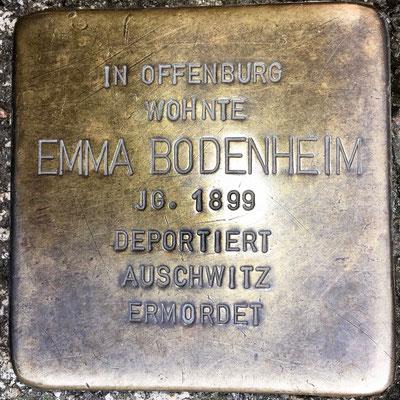 Bodenheim, Emma