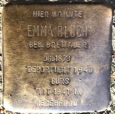 Emma Bloch