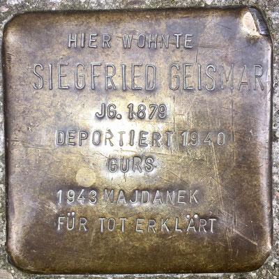 Geismar, Siegfried