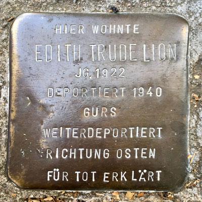 Edith Trude Lion