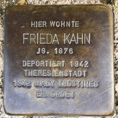 Kahn, Frieda