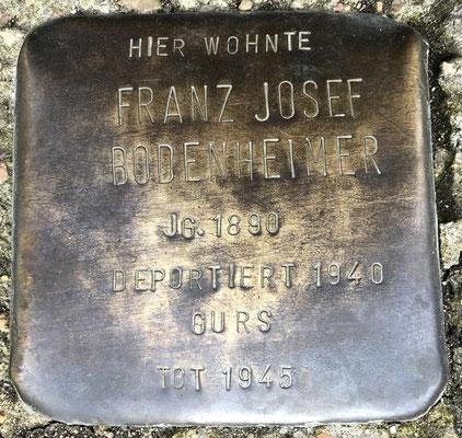 Franz Josef Bodenheimer